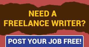 Need a freelance writer? Post a job free!